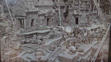 Temple restoration photo