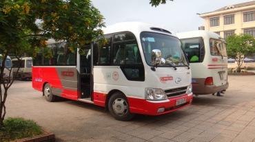 Vietnam 7 Phong Nha Bus -- 4
