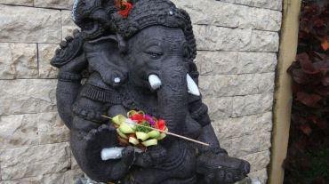 Ganesha at our entranceway